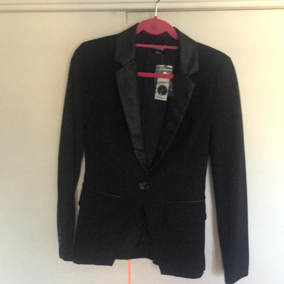 bebe Jackets & Blazers - Bebe tuxedo jacket black size 4
